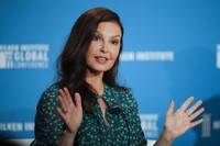 In this April 30, 2018, file photo, actress Ashley Judd speaks during a discussion on feminism at the Milken Institute Global Conference in Beverly Hills, Calif. (AP Photo/Jae C. Hong, File)