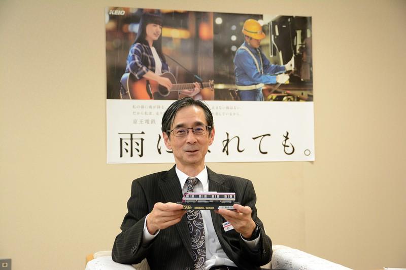 Interviewer 藤枝 克治(本紙編集長) Photo 武市 公孝:東京都多摩市の本社で