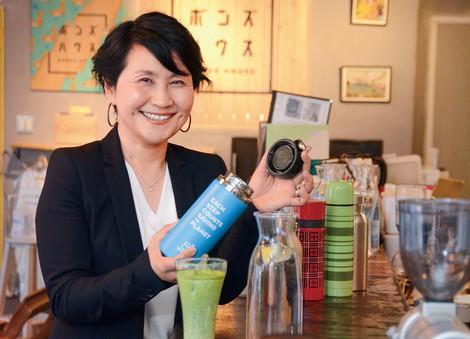 飯田百合子 ボトルト代表 「中身」だけを買う時代に