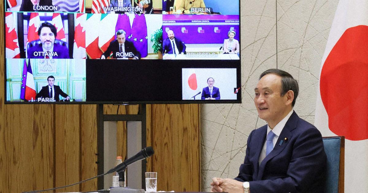 コロナワクチン巡り「影響力拡大の戦い」 G7が中露に警戒感