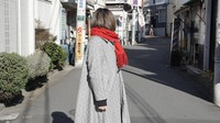 """A Zainichi Korean woman attending graduate school in Japan pictured here on Jan. 13, 2021 says, """"I make sure it's not obvious from my tweets that I'm Zainichi Korean, because I know that if people find out, I'll be attacked."""" The photo is partially modified. (Mainichi/Yoshiya Goto)"""