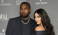 Kanye West, left, and Kim Kardashian attend the WSJ. Magazine Innovator Awards on Nov. 6, 2019, in New York. Kim Kardashian West filed for divorce Friday, Feb. 19, 2021, from Kanye West after 6 1/2 years of marriage. (Photo by Evan Agostini/Invision/AP, File)