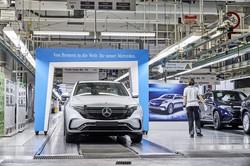 ドイツでは4台に1台がEV・PHVに(ダイムラーのブレーメン工場)(Bloomberg)