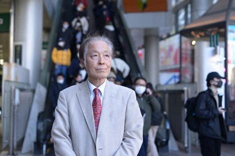 Economist Yoshihiko Senoo is seen in Tokyo's Shibuya Ward on Feb. 4, 2021. (Mainichi/Keigo Kawasaki)