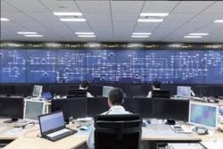 日々の電力需給状況を把握している電力広域的運営推進機関広域運用センター=東京都内で(同機関提供)