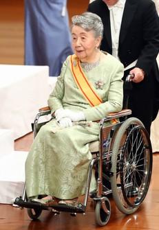 This file photo taken on May 1, 2019 shows Princess Yuriko. (Mainichi/Junichi Sasaki)