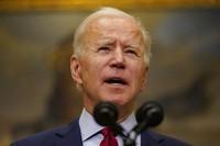 In this Feb. 27, 2021, photo, President Joe Biden speaks on the economy in the Roosevelt Room of the White House in Washington. (AP Photo/Pablo Martinez Monsivais)