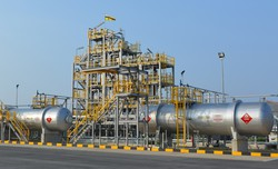 千代田化工建設や三菱商事、三井物産が取り組むブルネイの水素生産・貯蔵プロジェクト 千代田化工提供