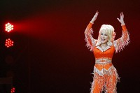 Dolly Parton performs in concert on May 27, 2014, in Knoxville, Tenn. (Photo by Wade Payne/Invision/AP)