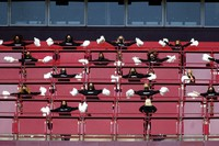 Washington Football Team cheerleaders perform before an NFL football game against the New York Giants in Landover, Md., in this Nov. 8, 2020, file photo. (AP Photo/Daniel Kucin Jr.)