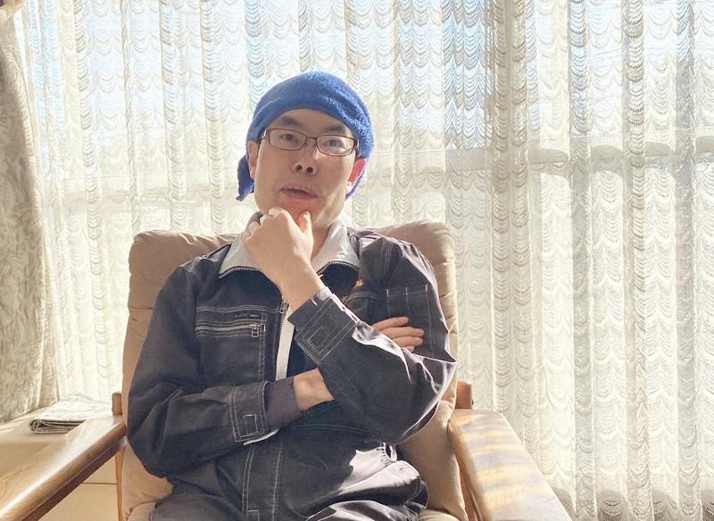 みやじ豚社長の宮治勇輔さん=神奈川県藤沢市で、永井大介撮影