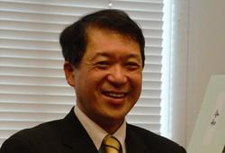 「実効性ある避難計画が必要」と語る泉田裕彦・元新潟県知事=2021年1月20日、古屋敷尚子撮影