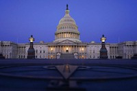 The Capitol is seen just before sunrise in Washington, on March 5, 2021. (AP Photo/Carolyn Kaster)