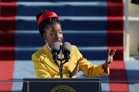 In this file photo dated Wednesday, Jan. 20, 2021, American poet Amanda Gorman recites a poem during the Inauguration of U.S. President Joe Biden at the U.S. Capitol in Washington, USA. (AP Photo/Patrick Semansky, FILE)