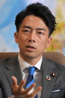Environment Minister Shinjiro Koizumi. (Mainichi/Koichiro Tezuka)