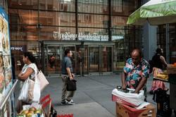 ニューヨークタイムズ本社ビル Bloomberg