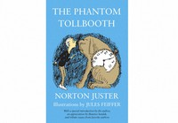 """This cover image released by Random House Children's Books shows """"The Phantom Tollbooth"""" by Norton Juster. (Random House Children's Books via AP)"""