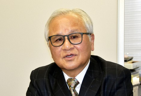 黄川田徹氏=野原大輔撮影