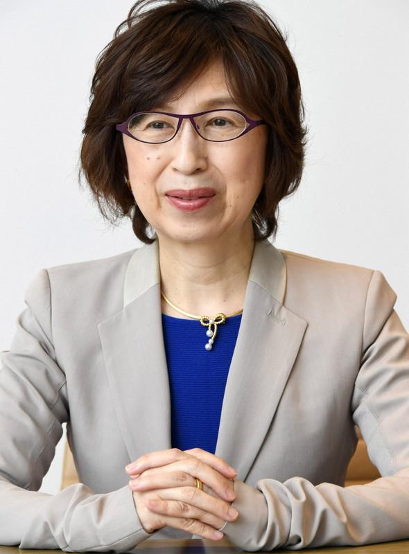 DeNAの南場智子会長は経団連の副会長に内定した=東京都渋谷区で2018年3月2日、根岸基弘撮影