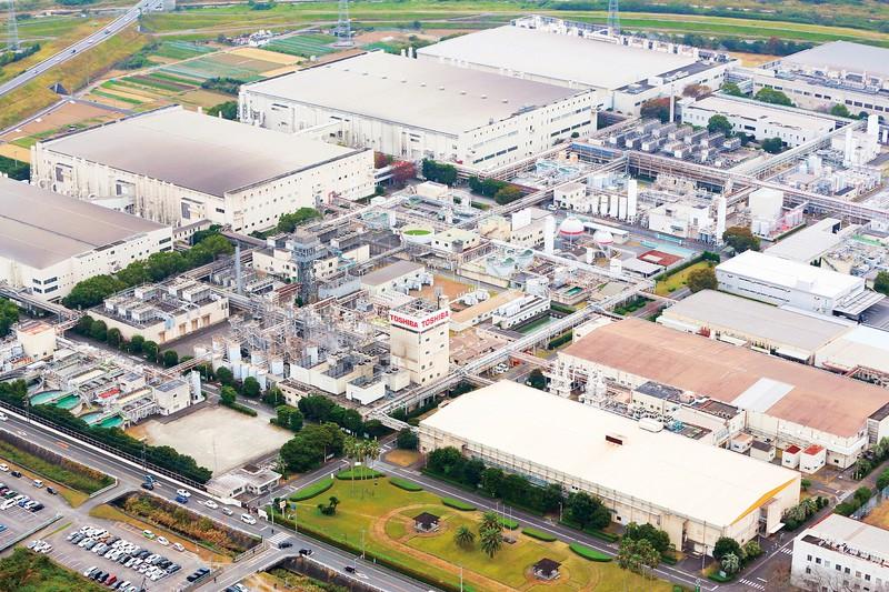 東芝グループ企業が運営する大手事業所(大分市)。マイコンなどを手がけているが、売却検討と報じられている。
