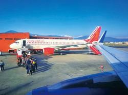 国営航空エア・インディアは政府が倍加役に動いている NNA撮影