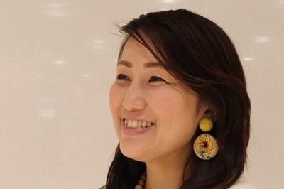 「議員は魅力的な仕事。議員を子どもたちのなりたい職業の上位にしたい」と語る大島もえさん=名古屋市中村区で2021年1月28日、細川貴代撮影