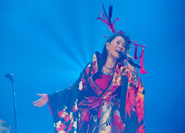 2020年は「PHOENIX TOUR~待たせた分だけ100倍返しーっっ!!!」と題してツアーを実施。予定していた14公演のうち北海道の2公演を除く12公演で、ステージに立った。歌手の大黒摩季さん(ビーイング提供)