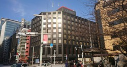 スルガ銀行東京支店=2020年11月