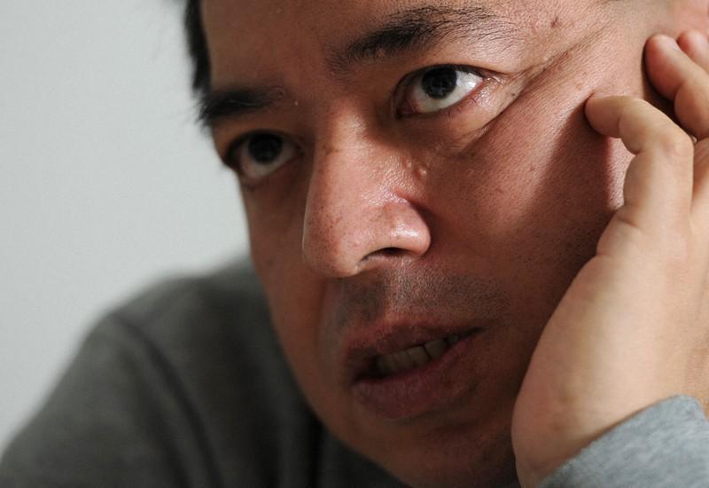 佐藤優氏=久保玲撮影