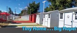 ホームレス支援として建設された超小型住宅 Hope of the Valley提供