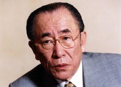 故・樋口広太郎(1999年2月26日撮影)