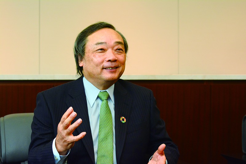 INPEX(国際石油開発帝石)代表取締役社長 上田 隆之氏