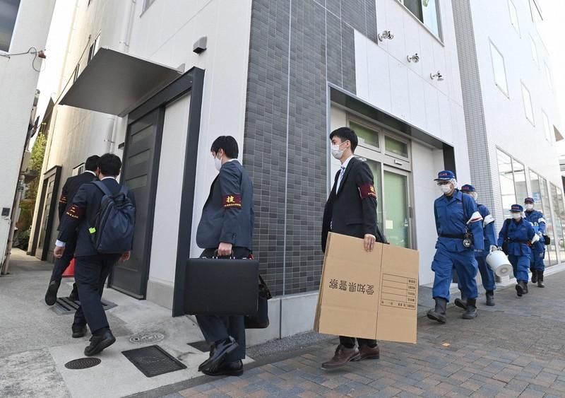 リコール署名偽造、愛知県警が元事務局捜索 地方自治法違反容疑   毎日新聞