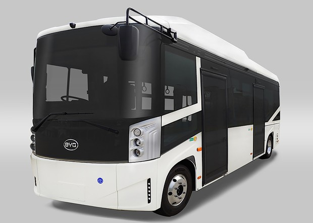 BYDのEVバスは日本の4分の1の価格(写真はJ6)