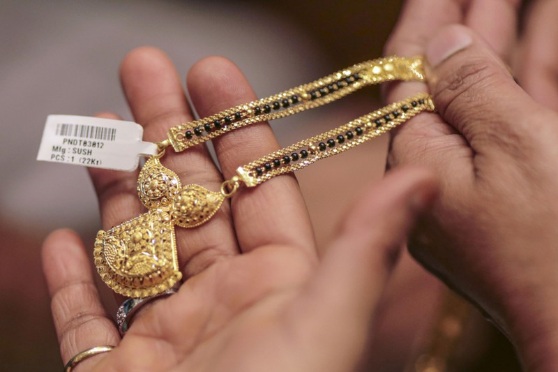 インドでは金の宝飾品への需要が根強い(ムンバイ)(Bloomberg)