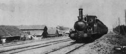 1872(明治5)年、日本初の鉄道が新橋―横浜間で開業した