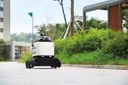 ウーワ・ブラザーズの屋外配送ロボット「ディリー・ドライブ」ウーワ・ブラザーズ提供