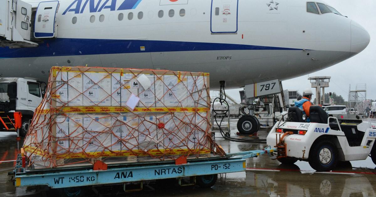 新型コロナワクチン 、過去最多198万9000回分が成田空港到着
