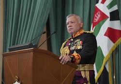 ヨルダンのアブドラ国王=2020年12月、AP