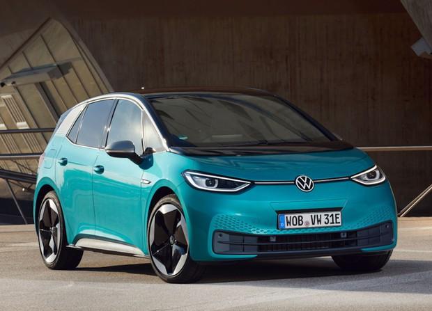 VW「ID.3」(Volkswagen Newsroomより)