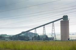 アングロ・アメリカンが運営する南ア・プマランガ州の炭鉱 Bloomberg