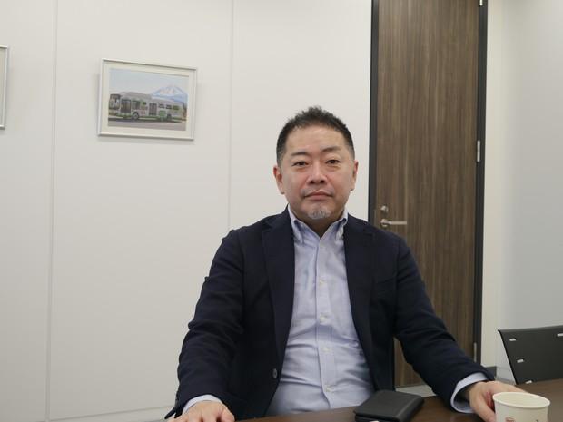 「2月に京阪バスと提携、電動バスの年内の国内納入台数は100台ほどになる」BYDジャパンの花田晋作副社長