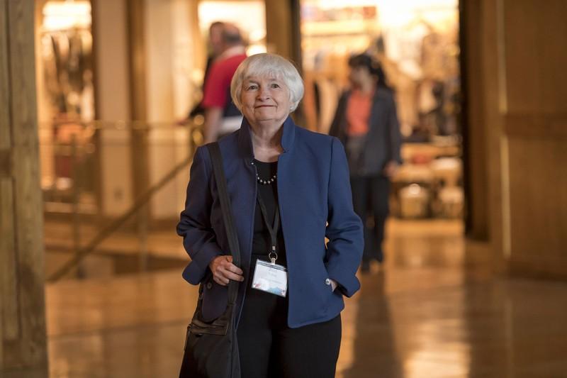 雇用を重視するイエレン財務長官 (Bloomberg)
