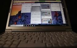 免許証などの個人情報が表示されるパソコン画面=東京都千代田区で2021年4月6日、宮武祐希撮影(画像の一部を加工しています)