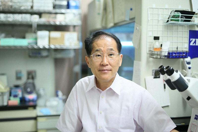 理化学研究所脳神経科学研究センターの吉川武男博士=埼玉県和光市の理研で本人提供
