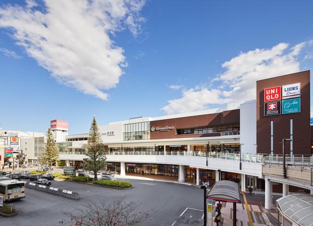 駅直結の商業施設「グランエミオ所沢」とともに、2020年9月にリニューアルした所沢駅