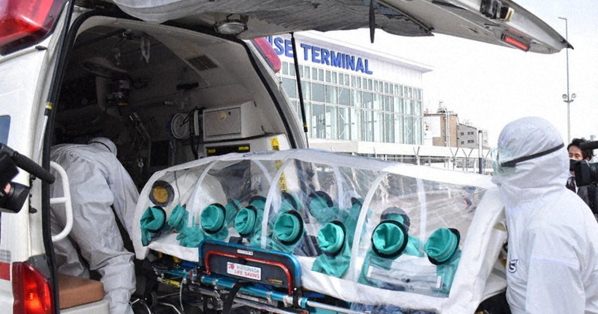 秋田港で水際対策訓練 クルーズ船の「安全な受け入れ」へ備え | 毎日新聞