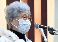 Sakie Yokota is seen in Tokyo on April 15, 2021. (Mainichi/Kimi Takeuchi)