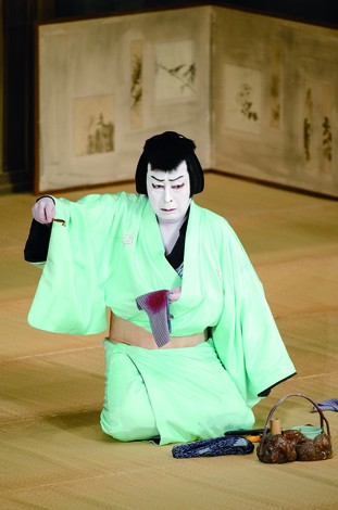 『仮名手本忠臣蔵 六段目』早野勘平=尾上菊五郎(平成25年11月歌舞伎座) 松竹提供