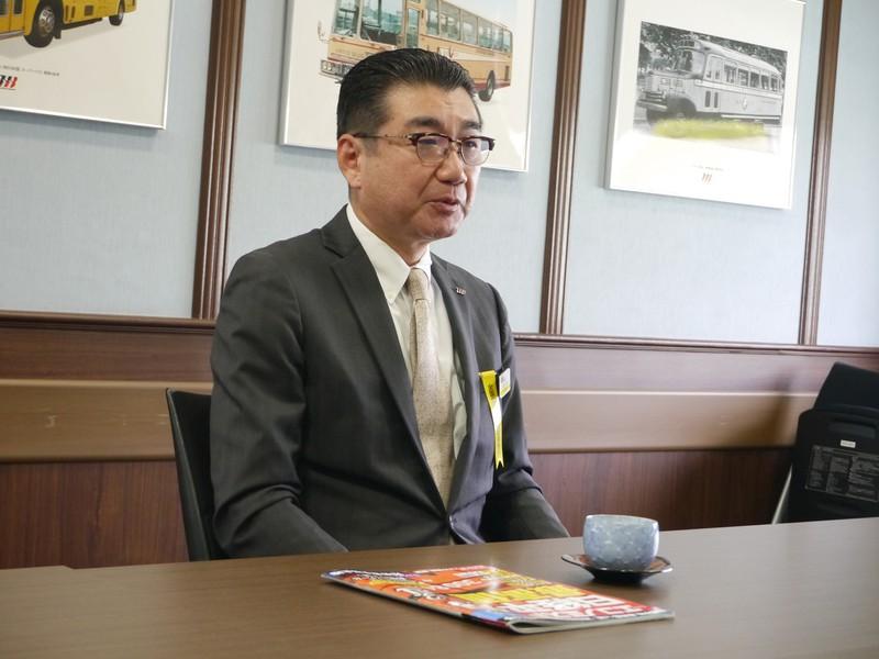 塩見清仁 はとバス代表取締役社長